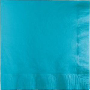 Bermuda Blue Beverage Napkins 3Ply 500 Ct