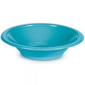Bermuda Blue Plastic Bowls 12 Oz. 240 Ct