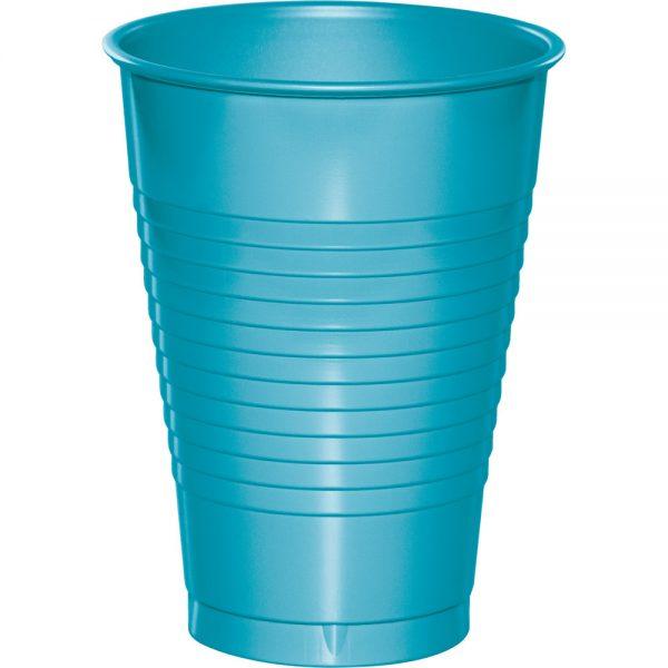 Bermuda Blue Plastic Cups 12 Oz. 240 Ct