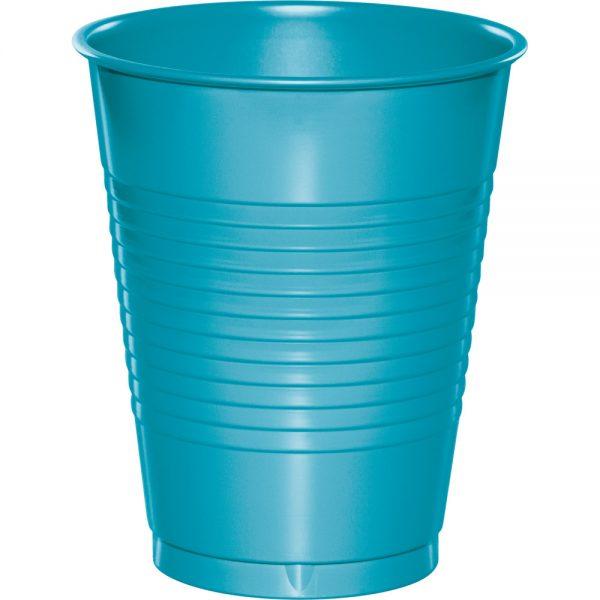 Bermuda Blue Plastic Cups 16 Oz. 240 Ct