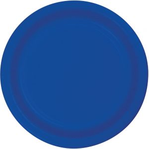 "Cobalt Paper Dinner Plates 10"" 240 Ct"