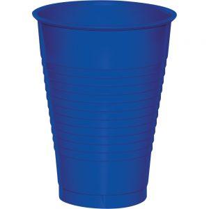 Cobalt Plastic Cups 12 Oz. 240 Ct