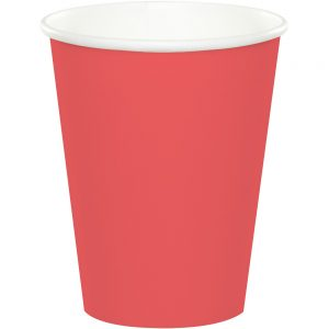 Coral Hot/Cold Cups 9Oz. 240 Ct