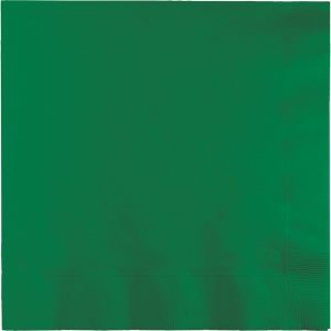Emerald Green Beverage Napkins 2Ply 1200 Ct