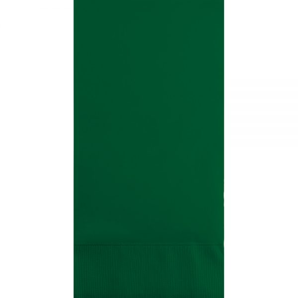Hunter Green Guest Towels 3Ply 192 Ct