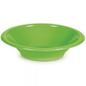 Fresh Lime Plastic Bowls 12 Oz. 240 Ct