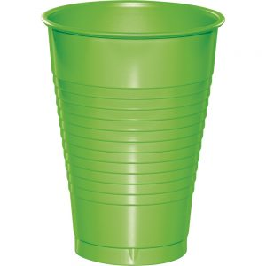 Fresh Lime Plastic Cups 12 Oz. 240 Ct