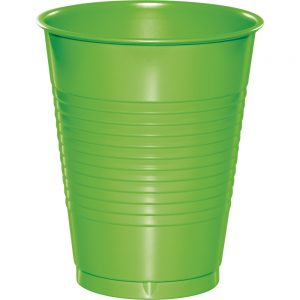 Fresh Lime Plastic Cups 16 Oz. 240 Ct