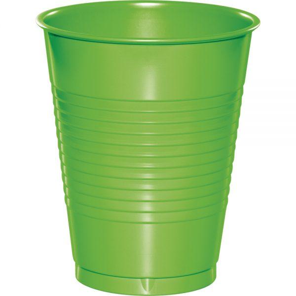 Fresh Lime Plastic Cups 16 Oz. 240 Ct