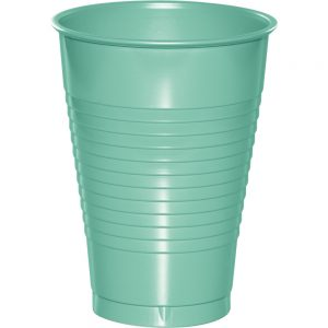 Fresh Mint Plastic Cups 12 Oz. 240 Ct