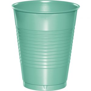 Fresh Mint Plastic Cups 16 Oz. 240 Ct