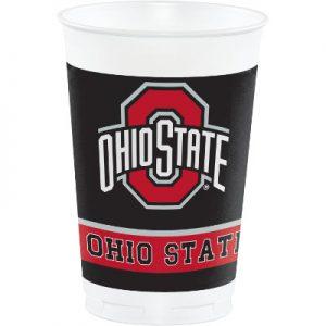 Ohio State University 20 oz Plastic Cups 96 Ct