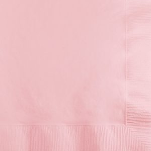 Classic Pink Lunch Napkins 2Ply 600 Ct