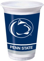 Pennsylvania State University 20 oz Plastic Cups 96 Ct