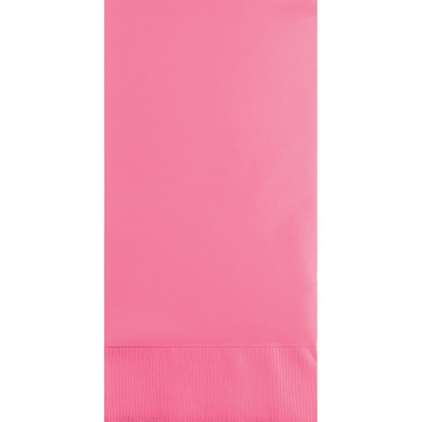 Candy Pink Guest Towels 3Ply 192 Ct