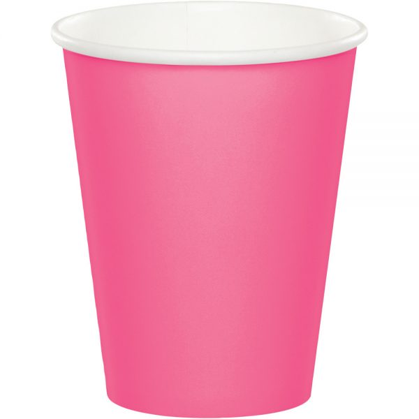 Candy Pink Hot/Cold Cups 9Oz. 240 Ct