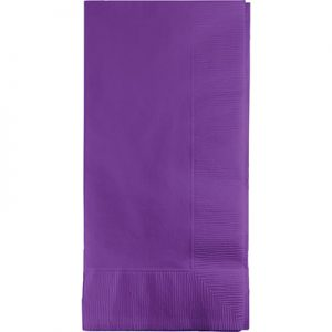 Amethyst Dinner Napkins 2Ply 1/8Fld 600 Ct
