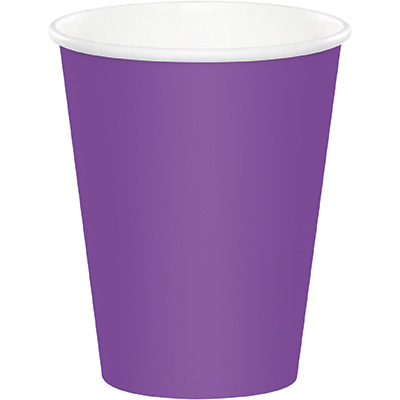 Amethyst Hot/Cold Cups 9Oz 240 Ct