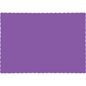 Amethyst Paper Placemats 600 Ct