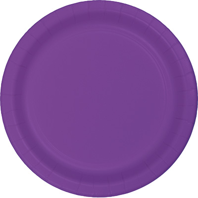 """Amethyst Paper Lunch Plates 9"""" 240 Ct"""