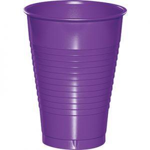 Amethyst Premium Plastic Cups 12 Oz 240 Ct