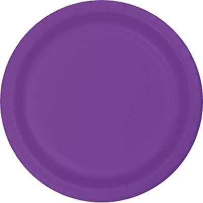 """Amethyst Premium Plastic Dinner Plates 10.25"""" 240 Ct"""
