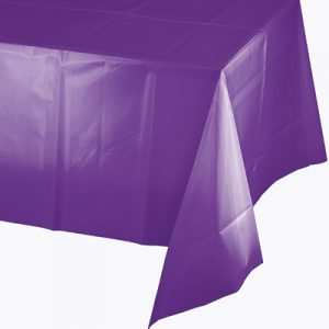 """Amethyst Tablecovers 54""""X 108"""" Tis/Poly 6 Ct"""