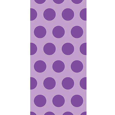 Cello Bags - Two Tone Amethyst Dots 240 Ct