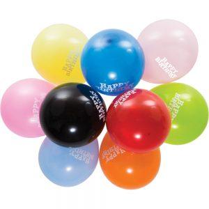 "Assorted 12"" Happy Birthday Balloons 180 Ct"