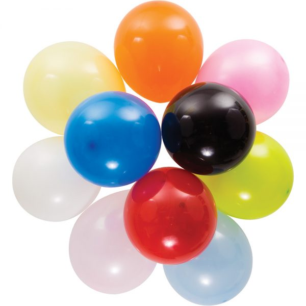 """Assorted 9"""" Latex Balloons 240 Ct"""