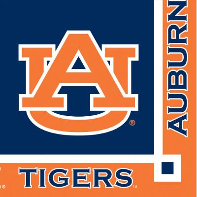 Auburn University Beverage Napkin 240 Ct