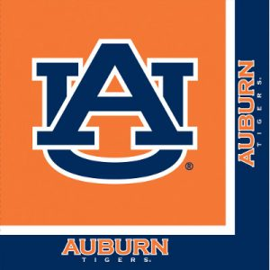 Auburn University Luncheon Napkin 240 Ct