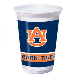 Auburn University 20 oz Plastic Cups 96 Ct