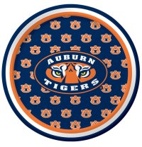 Auburn University Luncheon Plate 96 Ct