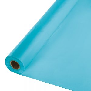 "Bermuda Blue Banquet Roll 40"" X 100' 1 Ct"
