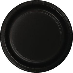 Black Velvet Party Tableware