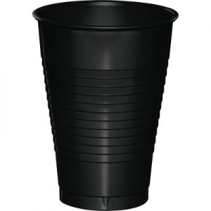 Black Velvet Plastic Cups 12 Oz. 240 Ct