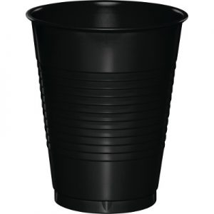 Black Velvet Plastic Cups 16 Oz. 240 Ct