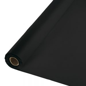 "Black Velvet Banquet Roll 40"" X 100' 1 Ct"