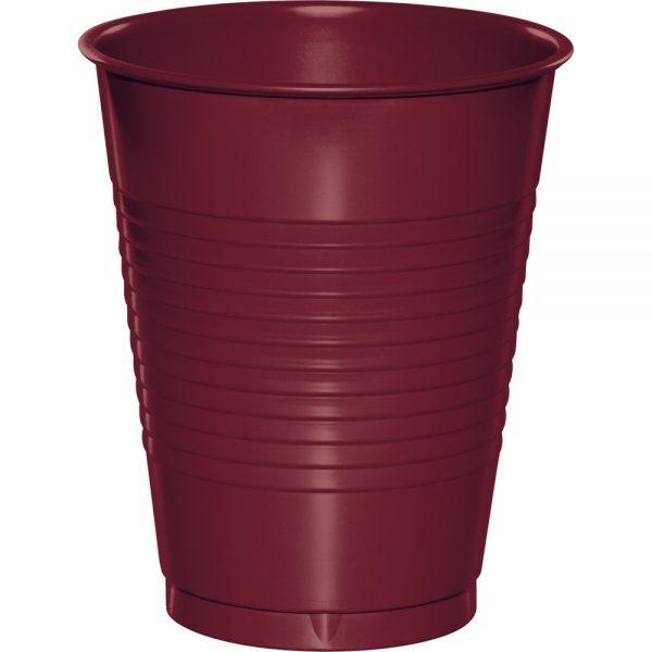 Burgundy Plastic Cups 16 Oz. 240 Ct