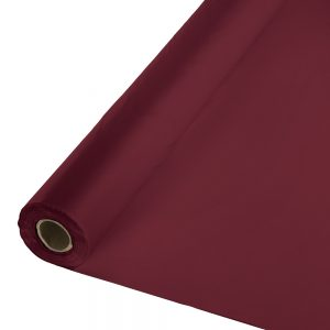 "Burgundy Banquet Roll 40"" X 100' 1 Ct"