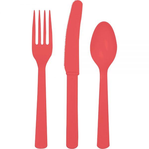 Coral Premium Cutlery Asst 288 Ct