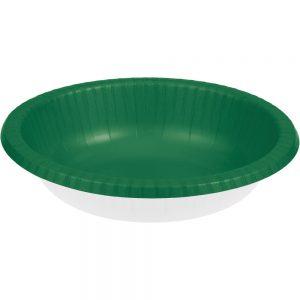 Emerald Green Paper Bowls 20 Oz. 200 Ct