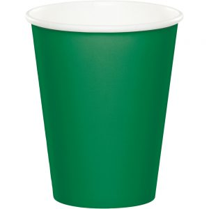 Emerald Green Hot/Cold Cups 9oz. 240 Ct