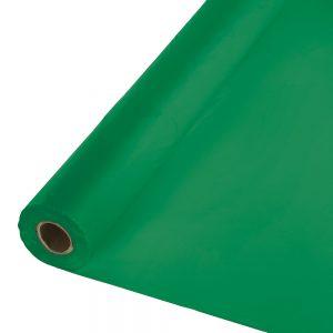 """Emerald Green Banquet Roll 40"""" X 100' 1 Ct"""