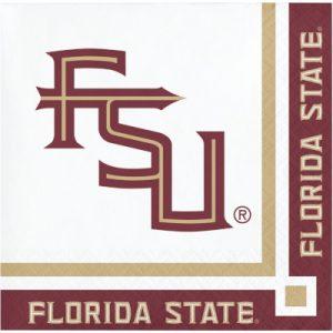 Florida State University Beverage Napkin 240 Ct