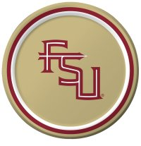 Florida State University Luncheon Plate 96 Ct