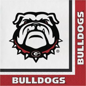 Georgia Bulldogs  Luncheon Napkin 240 Ct
