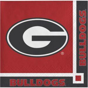 Georgia Bulldogs Beverage Napkin 240 Ct