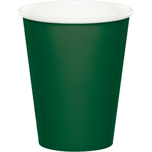Hunter Green Hot/Cold Cups 9Oz. 240 Ct